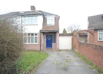 Thumbnail 3 bed semi-detached house to rent in Rosedale Crescent, Earley, Reading