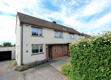 Thumbnail 3 bed semi-detached house for sale in Churchill Road East, Wells