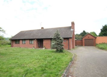 Thumbnail 4 bed detached bungalow for sale in Baylham, Ipswich, Suffolk
