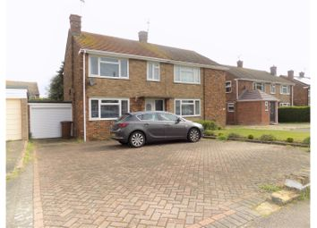 Thumbnail 3 bed semi-detached house for sale in Tanker Hill, Gillingham