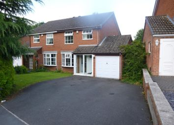 Thumbnail 3 bed semi-detached house to rent in Roundhill Close, Sutton Coldfield