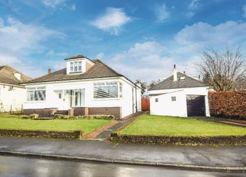 Thumbnail 3 bed detached bungalow for sale in Parklee Drive, Carmunnock, Clarkston, Glasgow