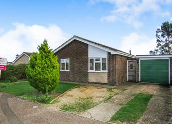 Thumbnail 4 bed detached bungalow for sale in Clover Road, Attleborough
