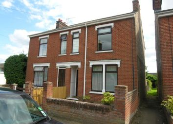Thumbnail 3 bed property to rent in Hutland Road, Ipswich