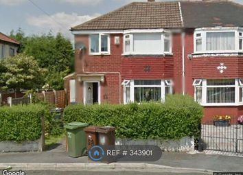 Thumbnail 3 bed semi-detached house to rent in Goring Avenue, Manchester