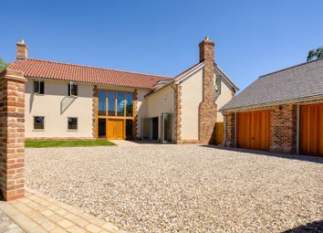 Thumbnail 5 bed detached house for sale in High Bank, Long Lane, Fowlmere