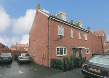 Thumbnail 3 bed semi-detached house for sale in Maxwell Crescent, Duston, Northampton