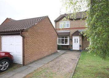 Thumbnail 2 bed semi-detached house for sale in Catkin Way, Balderton, Newark, Nottinghamshire.