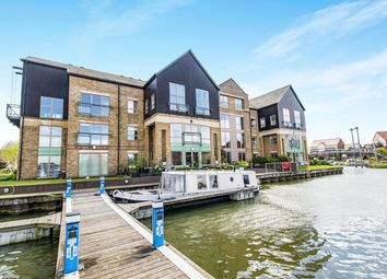 Thumbnail 2 bed flat for sale in Marine Approach, Burton Waters, Lincoln