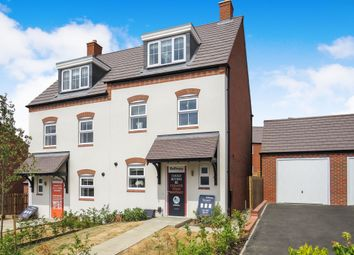 Thumbnail 3 bed semi-detached house for sale in Burton Road, Ashby-De-La-Zouch