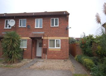 Thumbnail 2 bedroom end terrace house to rent in Thyme Close, Thetford