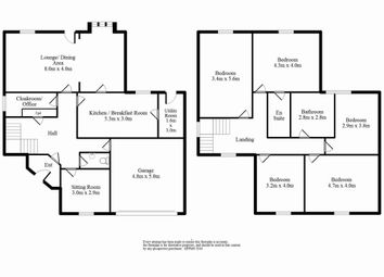 Thumbnail 5 bed detached house for sale in Bow Green, Clayton, Bradford