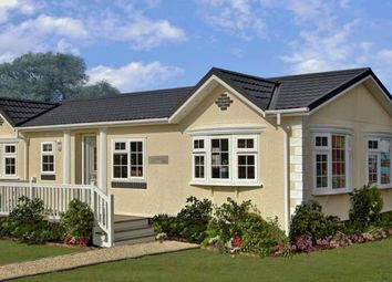 Thumbnail 2 bed mobile/park home for sale in The Old Rectory Mews Park, St Columb Major, Cornwall