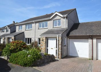 Thumbnail 3 bed semi-detached house for sale in Hendras Parc, Carbis Bay, Cornwall