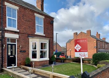 Thumbnail 3 bed semi-detached house for sale in Station Road, North Wingfield, Chesterfield