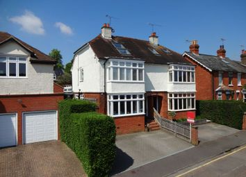 Thumbnail 5 bed semi-detached house to rent in Thorold Road, Farnham