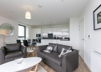 Thumbnail 2 bed flat to rent in Kingfisher Heights, 2 Bramwell Way, London