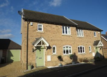 Thumbnail 2 bed semi-detached house for sale in Bell Meadow, Hingham, Norwich