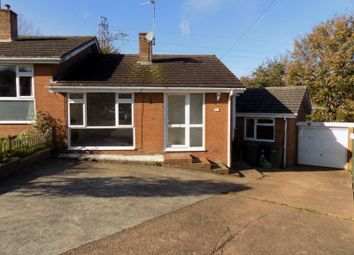 Thumbnail 3 bed semi-detached bungalow for sale in Grenville Road, Exmouth, Devon