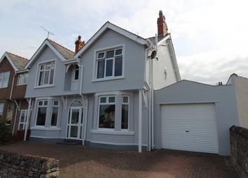 Thumbnail 4 bed semi-detached house for sale in Glyn Y Marl Road, Llandudno Junction