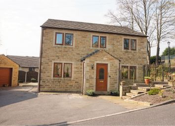 Thumbnail 4 bed detached house for sale in Hunters Glen, Keighley