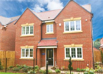 """Thumbnail 4 bed detached house for sale in """"Wheatcroft"""" at Edwin Close, Cawston, Rugby"""