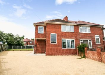 Thumbnail 4 bed semi-detached house for sale in New Lane Crescent, Pontefract