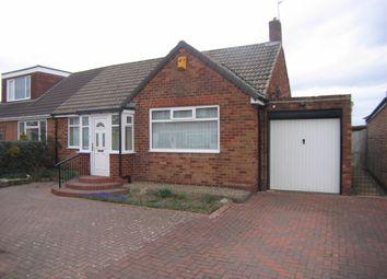 Thumbnail Semi-detached bungalow for sale in Horton Avenue, Bedlington