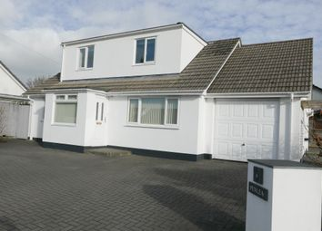 Thumbnail 3 bed detached house for sale in Humphreys Close, St. Cleer, Liskeard, Cornwall