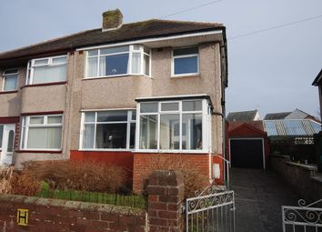 Thumbnail 3 bedroom semi-detached house for sale in Weymouth Street, Walney, Cumbria