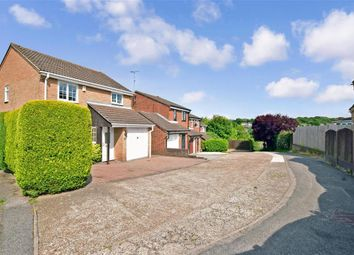 Thumbnail 3 bed detached house for sale in Gatcombe Close, Walderslade, Chatham, Kent