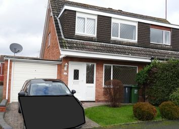 Thumbnail 3 bedroom semi-detached house to rent in Newent Close, Redditch