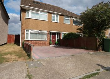 Thumbnail 4 bed semi-detached house to rent in Davis Road, South Ockendon