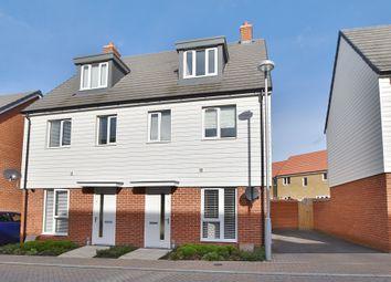 Thumbnail 3 bedroom semi-detached house to rent in Desmond Hubble Way, Repton Park