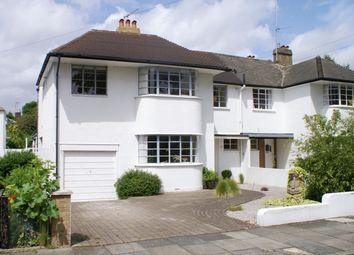 Thumbnail 5 bed semi-detached house to rent in Beresford Avenue, East Twickenham