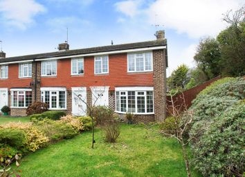 Thumbnail 3 bed end terrace house for sale in Lynholm Road, Polegate