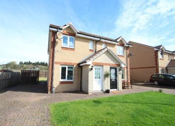 Thumbnail 2 bed semi-detached house for sale in Craigsmill Wynd, Caldercruix, Airdrie, North Lanarkshire
