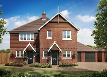 Thumbnail 3 bed semi-detached house for sale in St Georges Road, Badshot Lea, Farnham