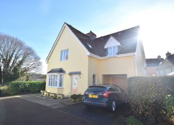 Thumbnail 4 bed detached house for sale in Manor Farm Close, Haverhill