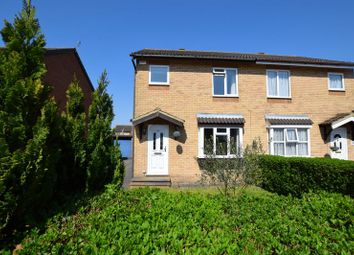 Thumbnail 3 bed semi-detached house for sale in Lambourne Avenue, Aylesbury