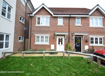 Thumbnail 3 bed semi-detached house for sale in Hodgson Way, Gilston, Harlow, Essex
