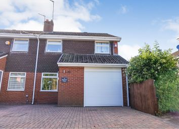 Thumbnail 3 bed semi-detached house for sale in Backford Close, Runcorn