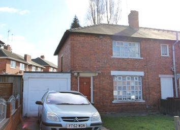 Thumbnail 3 bedroom semi-detached house to rent in Valley Road, Walsall