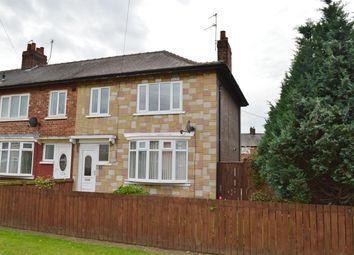 Thumbnail 3 bedroom end terrace house for sale in Aston Avenue, Brambles Farm, Middlesbrough