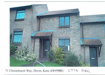 Thumbnail 2 bedroom terraced house to rent in Christchurch Way, Dover