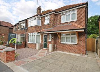 Thumbnail 4 bed semi-detached house for sale in Springfield Avenue, Grappenhall, Warrington