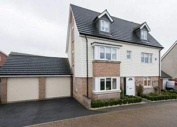 Thumbnail 5 bed detached house for sale in Coronach Close, Queens Hill, Norwich