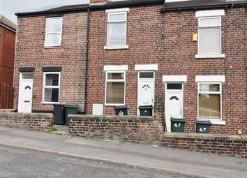 Thumbnail 2 bed terraced house for sale in Claremont Street, Rotherham