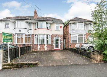 Thumbnail 3 bed semi-detached house for sale in The Fordrough, Northfield, Birmingham, West Midlands