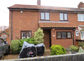 Thumbnail 3 bed semi-detached house for sale in Swathing, Cranworth, Thetford